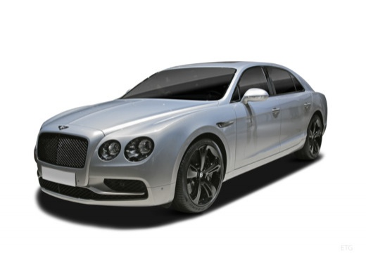Photo de l'avant gauche d'une Bentley Flying Spur 6.0i W12 635 BVA S (4p.)