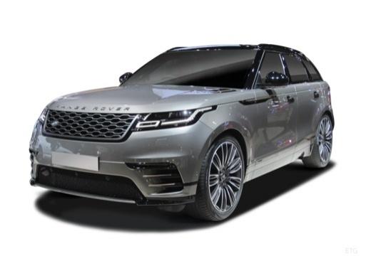 Photo de l'avant gauche d'une Land Rover Range Rover Velar 2.0i P300 BVA S R-Dynamic (Tout-Terrain)