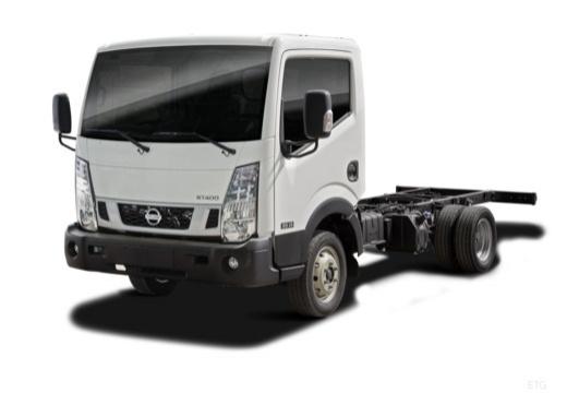 Photo de l'avant gauche d'une Nissan NT400 Châssis Cabine 32.13 L1 3.0 dCi 130 Euro 6 (Chassis)