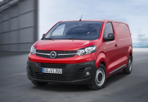 Photo de l'avant gauche d'une Opel Vivaro Cabine Approfondie 2.0D 180 BVA Pack Business (Fourgon)