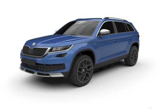 fiche technique et prix de la skoda kodiaq 1 5 tsi 150 act 4x4 dsg7 scout tout terrain. Black Bedroom Furniture Sets. Home Design Ideas